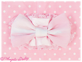 Misty Sky Scrunchie - Pink