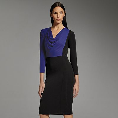 Narciso Rodriguez for DesigNation Colorblock Sheath Dress