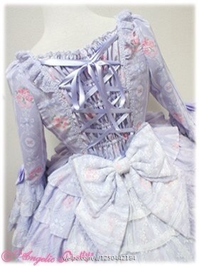 Angelic Pretty Romantic Rose Letter Special Set OP