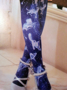 Dreamy Planetarium Tights Angelic Pretty