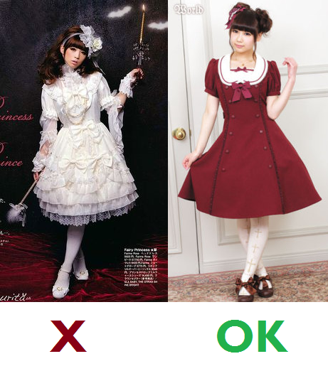 Lolita to wear to a wedding