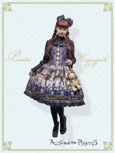 Alice and the Pirates Lucky Pack Kitten's Wonder Night Tea Party柄セット・Ⅰ/Kitten's Wonder Night Tea Party SET・Ⅰ Misako