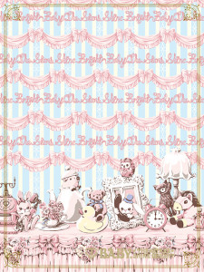 Hello Dear Bunny's Little Enchanted Room SET
