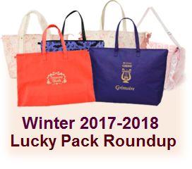 Winter 2017-2018 Lucky Pack Round Up!