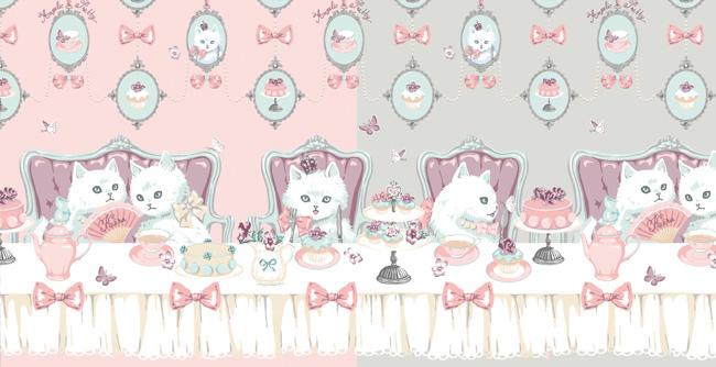 Cats Tea Party
