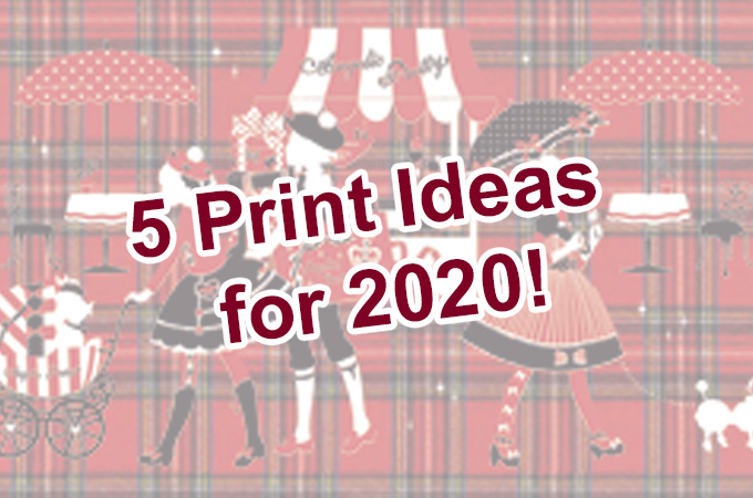 Lolita Blog Carnival: 5 Print Ideas for 2020!